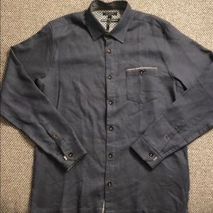 Ted Baker London Slim Fit Stripe Workwear Shirt